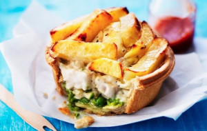 Fish and Chip Pie